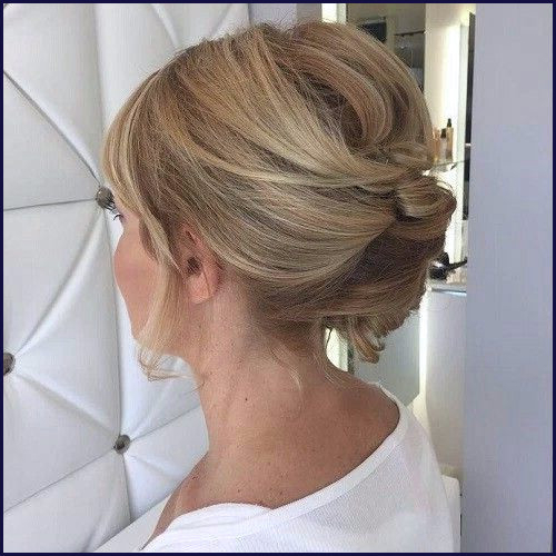 Mother Of The Bride Hairstyles For Short Hair Awesome Updo With Platinum Mother Of The Bride Hairstyles (View 19 of 25)