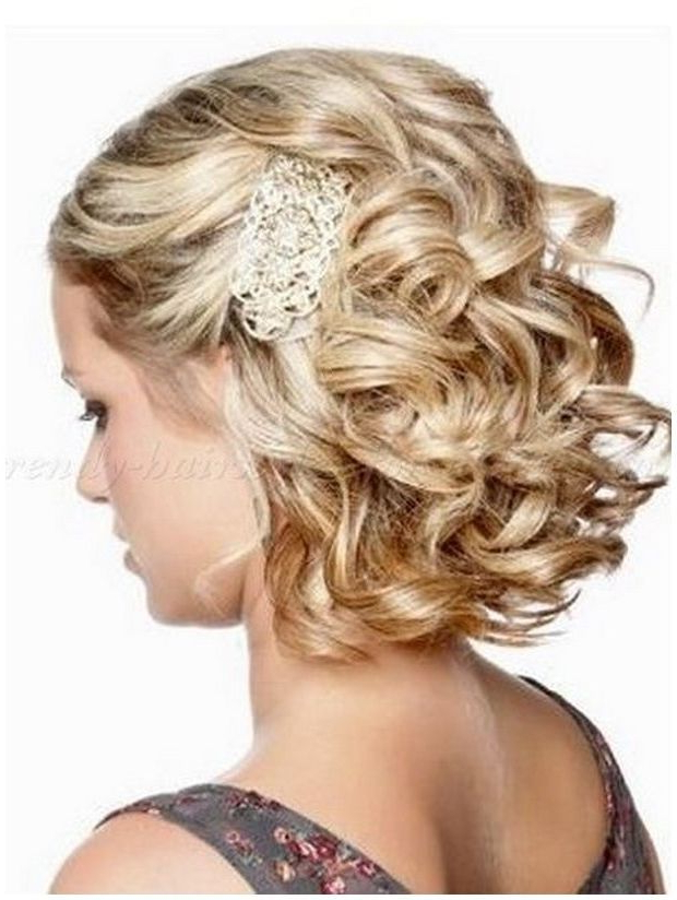 Mother Of The Bride Hairstyles For Shoulder Length Hair – Google Pertaining To Bridal Mid Bun Hairstyles With A Bouffant (View 23 of 25)