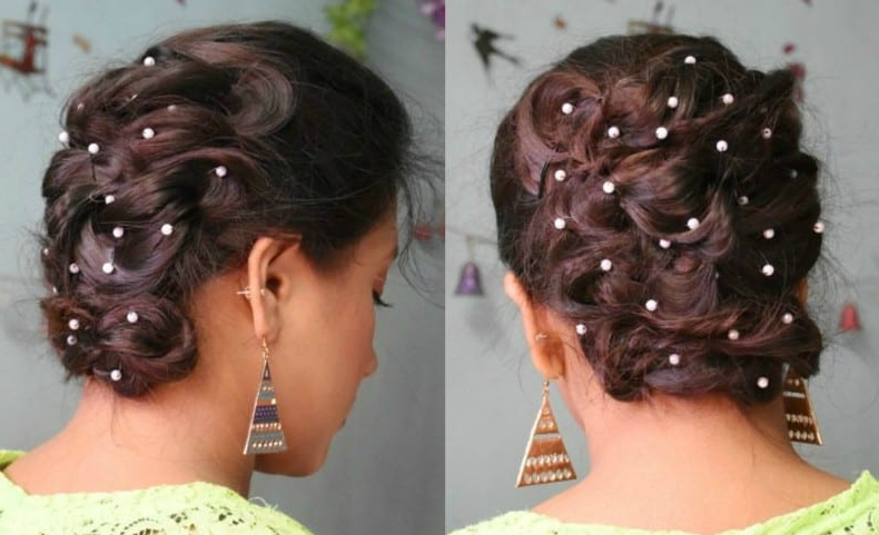 Must Watch Step By Step Hair Tutorial For Beautiful Voluminous Within Voluminous Bridal Hairstyles (View 25 of 25)