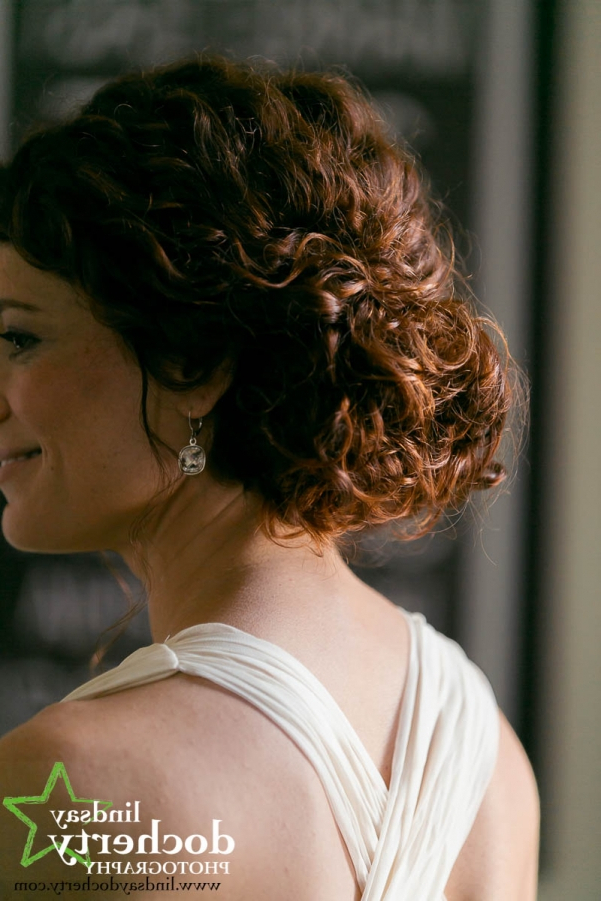 Naturally Curly Wedding Hairstylesphiladelphia Wedding Hair With Regard To Naturally Curly Wedding Hairstyles (View 14 of 25)