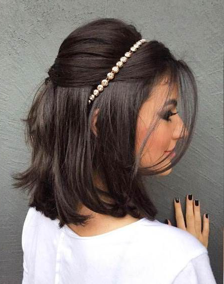 Featured Photo of Neat Bridal Hairdos With Headband