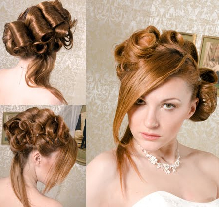 New Wave Hairstyle intended for Classic Twists And Waves Bridal Hairstyles