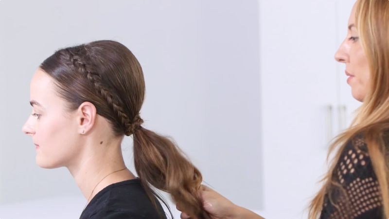 No-Heat Hairstyles That Are Superpopular On Pinterest - Allure throughout Pin-Up Curl Hairstyles For Bridal Hair