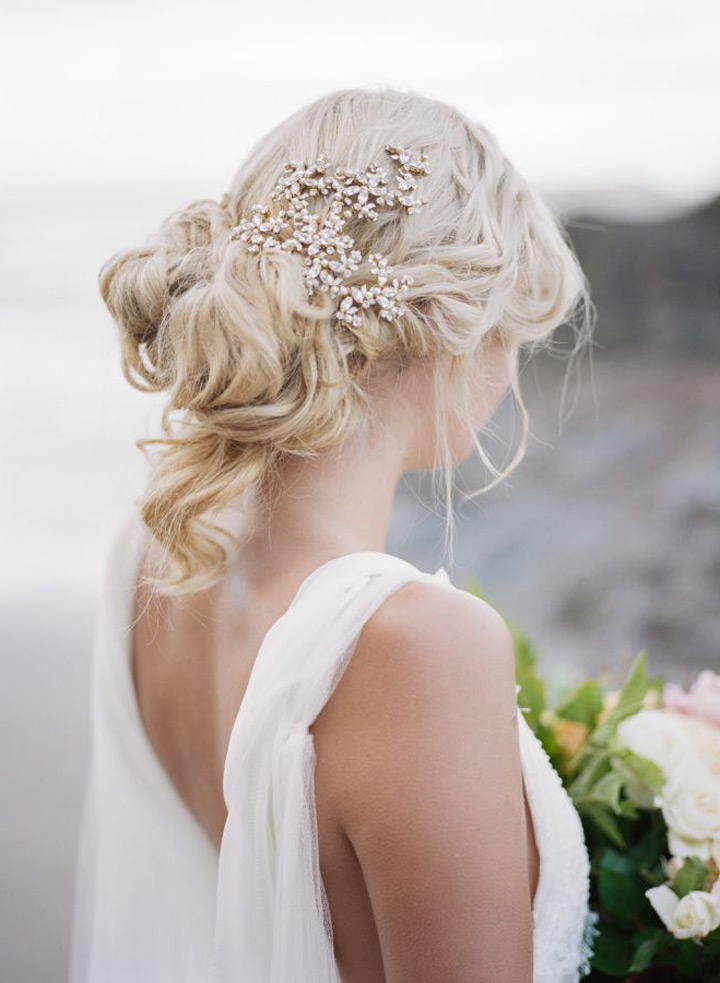 Pavlova Dessert Regarding Loose Updo Wedding Hairstyles With Whipped Curls (View 23 of 25)