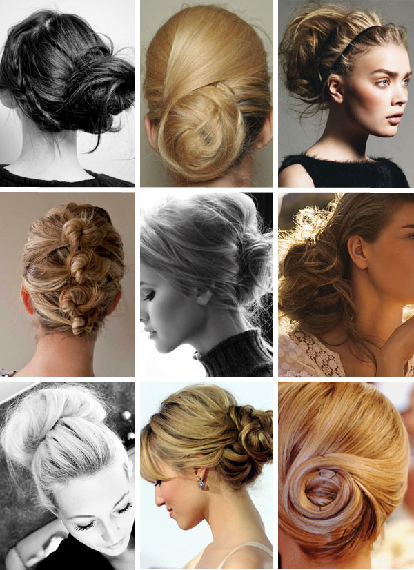 Phi Style: Bridal Bun Hair – Brooklyn Bride – Modern Wedding Blog For Modern Updo Hairstyles For Wedding (View 12 of 25)