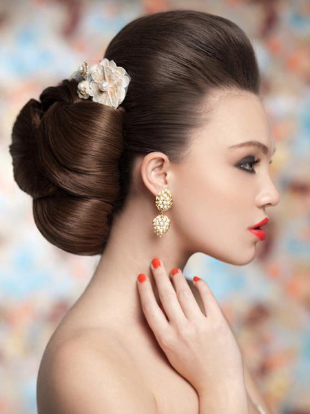 Pictures : Wedding Hairstyles For Long Hair – Voluminous Bridal Updo For Voluminous Bridal Hairstyles (View 6 of 25)