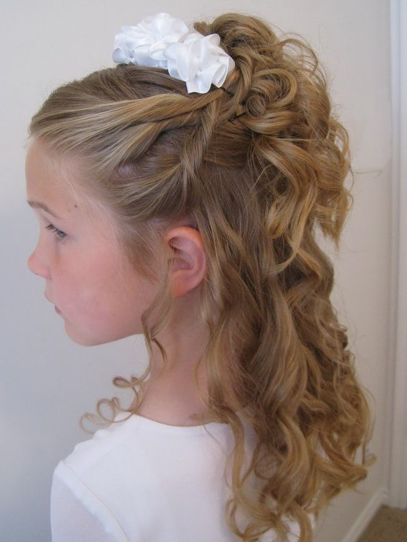 Pile Of Curls & A Headband   Bumble Bee   Pinterest   Girl With Pile Of Curls Hairstyles For Wedding (View 3 of 25)