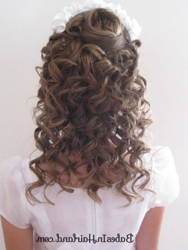 Pile Of Curls & Headband Redo | Cute Trends | Pinterest | Hair, Hair Intended For Pile Of Curls Hairstyles For Wedding (View 10 of 25)