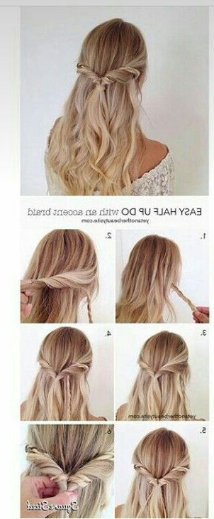 Pinjennifer Dell'agnese On Hair And Makeup | Hair Styles, Hair Pertaining To Spiraled Wedding Updos (View 14 of 25)