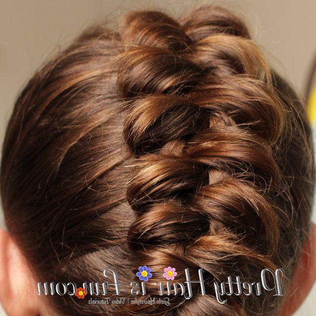 Pretty Hair Is Fun: Dutch Infinity Braid; Hair; Braids; Hairstyles With Infinity Wedding Updos (View 15 of 25)