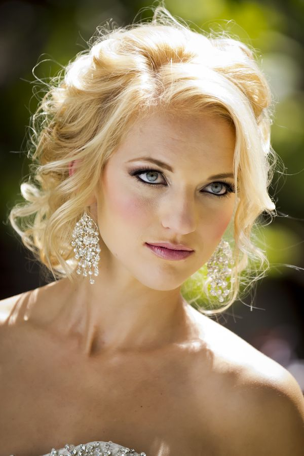 Pretty Texture Around The Face! I Like This One The Best Hair And Within Tender Shapely Curls Hairstyles For A Romantic Wedding Look (View 20 of 25)
