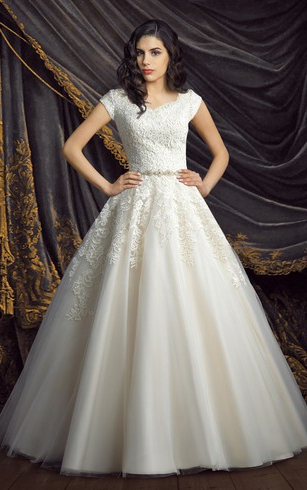 Princess Ball Gown Wedding Dresses, Ball Gown Bridal Gowns | Dressafford With Regard To Sleek And Big Princess Ball Gown Updos For Brides (View 24 of 25)