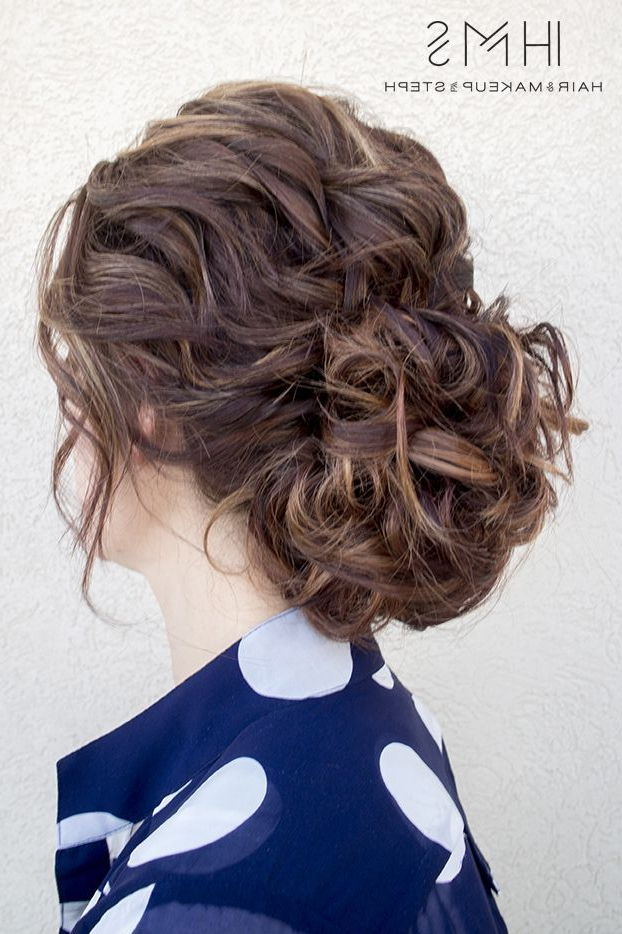 Private Workshop | All About Hair | Pinterest | Hair, Curly Hair Regarding Loose Updo Wedding Hairstyles With Whipped Curls (View 5 of 25)