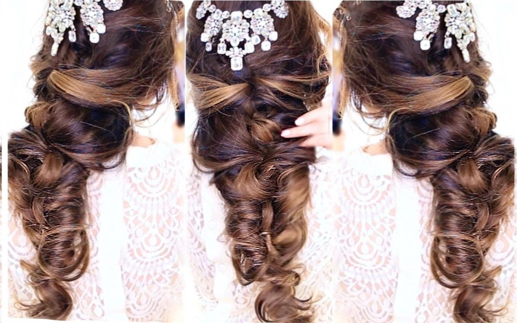 Prom Hairstyles Half Updos » Best Hairstyles & Haircuts For All Hair With Crisscrossed Half Up Wedding Hairstyles (View 14 of 25)