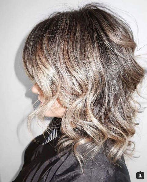 Proof That Beach Waves Were Made For Shoulder Length Hair – Coastal Intended For Soft Shoulder Length Waves Wedding Hairstyles (View 12 of 25)