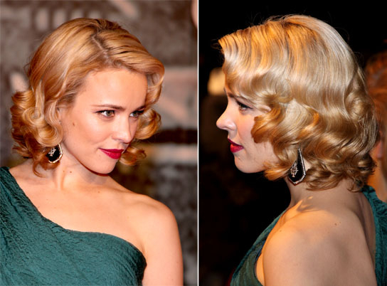 Rachel Mcadams, How Can We Get Your Screen Siren Curls? – Hollywood Life Within Pin Up Curl Hairstyles For Bridal Hair (View 17 of 25)