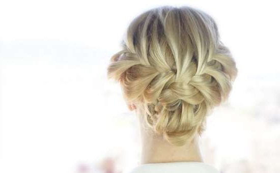 Ready For Some Hair Compliments? Easy French Braid Updo For Spring With Simplified Waterfall Braid Wedding Hairstyles (View 10 of 25)
