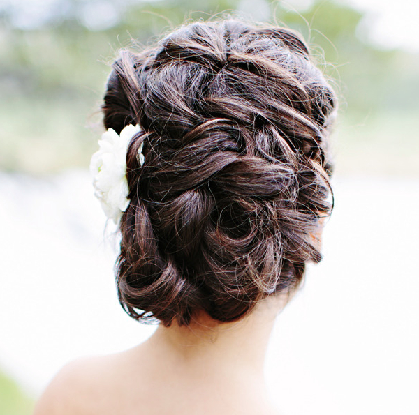 Romantic Wedding Hairstyles For Your Big Day – Part I | Wedding Hair In Romantic Bridal Hairstyles For Natural Hair (View 6 of 25)