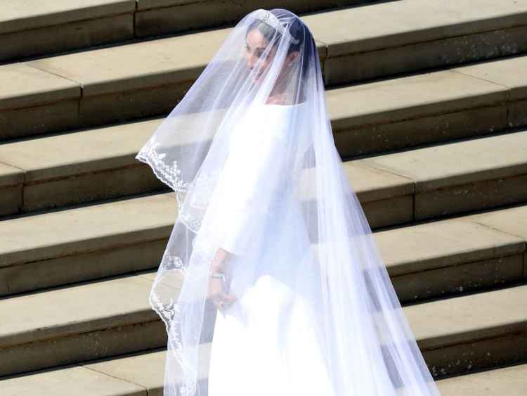 Royal Wedding: Why Meghan Markle Chose To Wear A Veil – Insider With Wedding Hairstyles With Extra Long Veil With A Train (View 23 of 25)