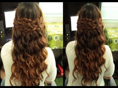 Selena Gomez Boho Braided Hairstyle (Inspired) Simplified Version With Regard To Simplified Waterfall Braid Wedding Hairstyles (View 9 of 25)