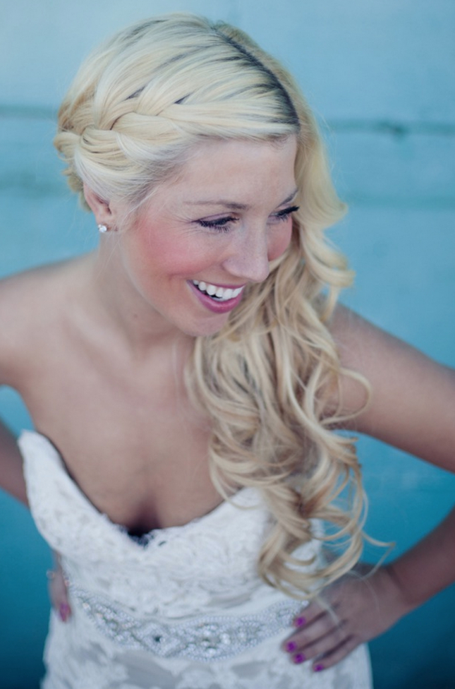 Shake Up Your Everyday Highlighted Hair With A Side Parted Hairstyle Within Sides Parted Wedding Hairstyles (View 19 of 25)