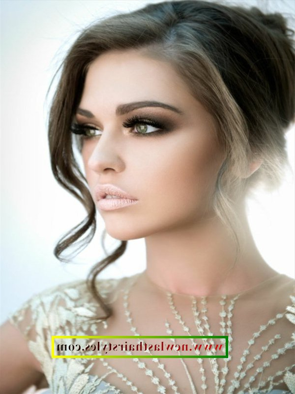 Side Parted Bridal Hairstyles 2018 | New Last Hair Styles Regarding Sides Parted Wedding Hairstyles (View 14 of 25)