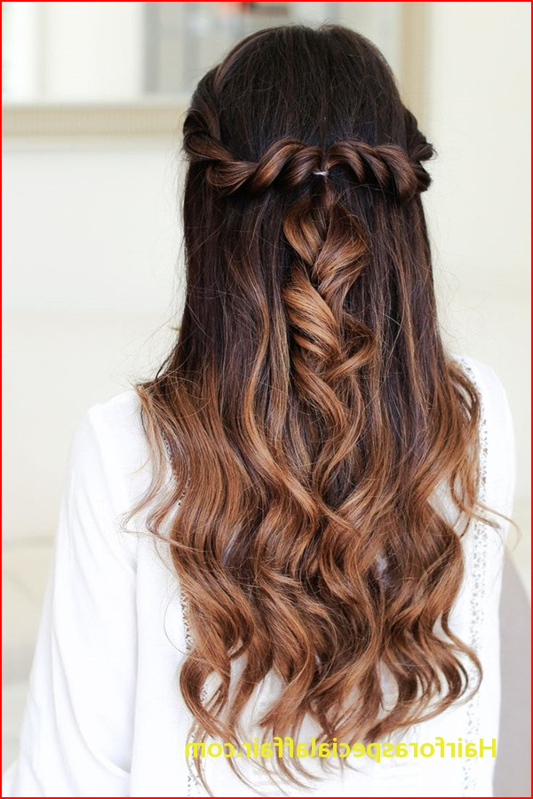 Simple Cute Hairstyles For Long Hair 20 Awesome Half Up Half Down Within Simple And Cute Wedding Hairstyles For Long Hair (View 10 of 25)