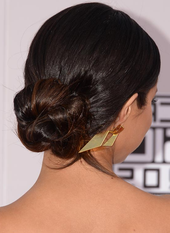 Simple Hair Buns For Sarees & Lehengas To Style Up Your Looks Throughout Low Twisted Bun Wedding Hairstyles For Long Hair (View 19 of 25)