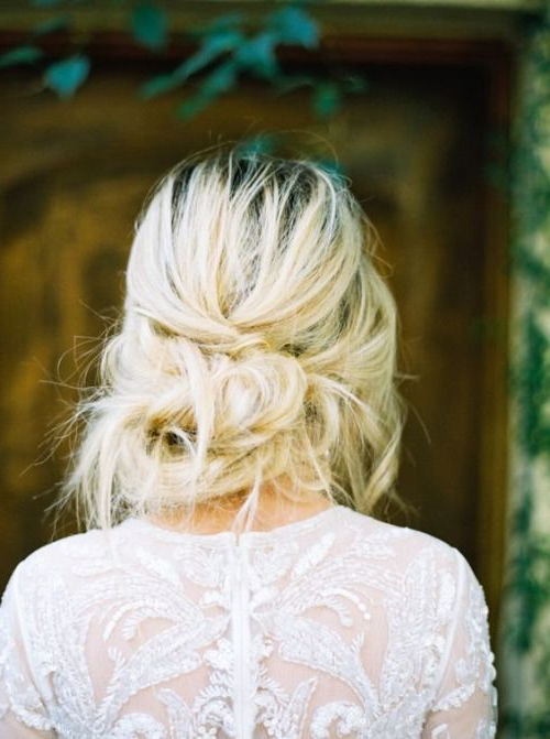 Simple Messy Wedding Hairstyles (View 6 of 25)