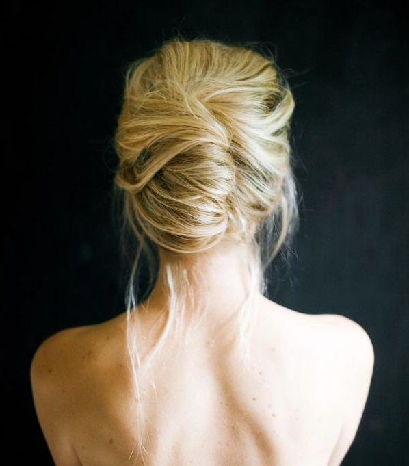 Simple Updo Hairstyles For Your Wedding Day – Hair World Magazine Within French Twist Wedding Updos With Babys Breath (View 15 of 25)