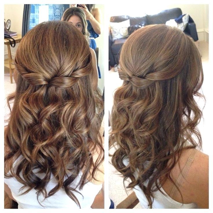 Simple Wedding Hairstyles – Canihas For Sleek And Simple Wedding Hairstyles (View 21 of 25)