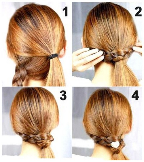 Simple Wedding Hairstyles To Do Yourself – Cute Easy Wedding Regarding Simple And Cute Wedding Hairstyles For Long Hair (View 8 of 25)