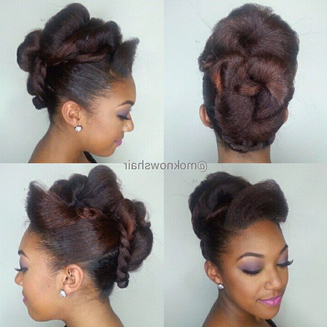Simplistic Flat Twist Updo Hairstyles – Lahostels With Regard To Short And Flat Updo Hairstyles For Wedding (View 9 of 25)
