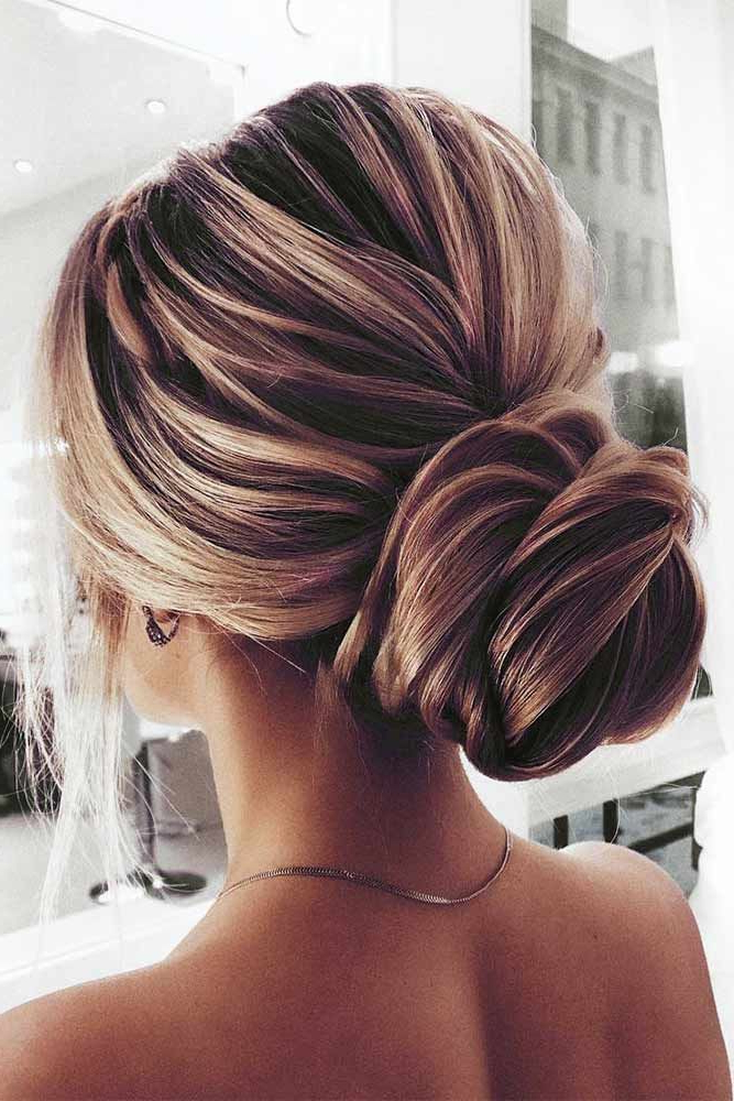 Stunning Chignon Hairstyles With A Voluminous Knot Picture 1 | Hair Pertaining To Sleek And Voluminous Beehive Bridal Hairstyles (View 10 of 25)