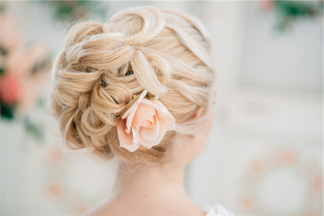 Style Ideas: 20 Modern Bridal Hairstyles For Long Hair | Deer Pearl Regarding Modern Updo Hairstyles For Wedding (View 17 of 25)