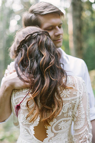 Summer Wedding Hair – Our Top 20 Styles | Onefabday With Regard To Loose Curls Hairstyles For Wedding (View 12 of 25)
