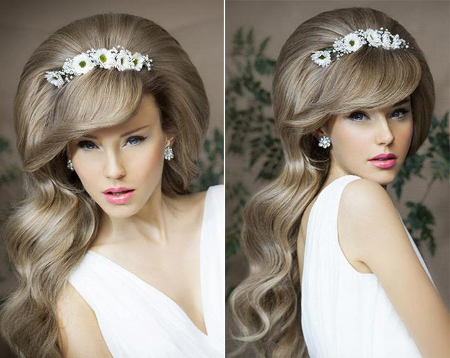 Super Cute Bridal Hairstyles Every Girl Would Love To Wear In Teased Wedding Hairstyles With Embellishment (View 20 of 25)