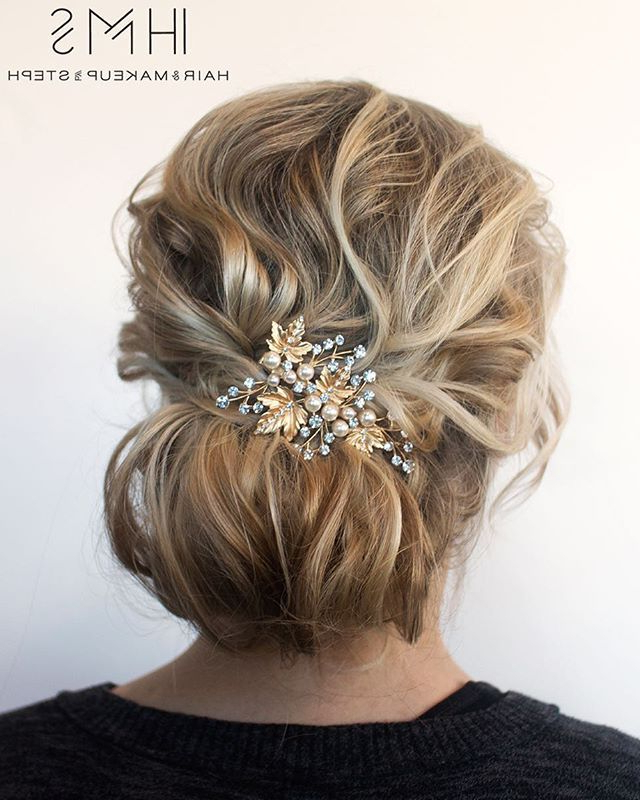 Textured Updo For Fine Hair (View 2 of 25)