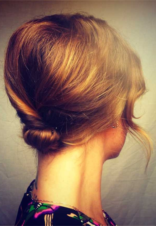 The Best Bridal Buns – Hair World Magazine With Bridal Mid Bun Hairstyles With A Bouffant (View 18 of 25)