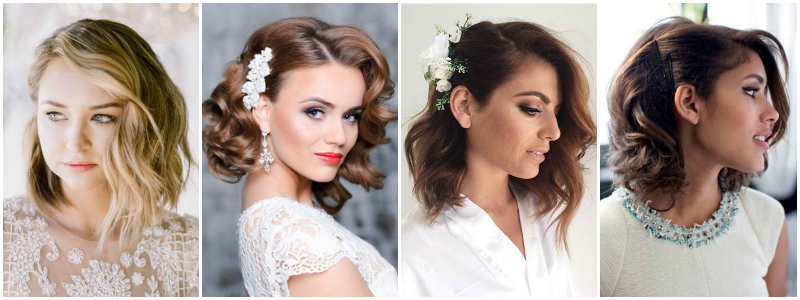 The Best Wedding Hairstyles That Will Leave A Lasting Impression Intended For Curls Clipped To The Side Bridal Hairstyles (View 11 of 25)