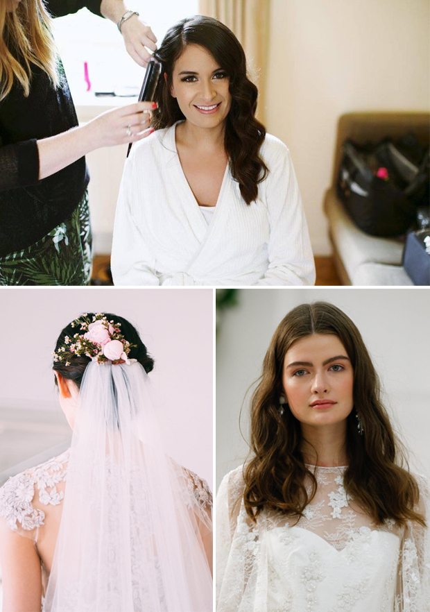 The Hottest Wedding Hair Trends For 2017 Brides   Weddingsonline Inside Accessorized Undone Waves Bridal Hairstyles (View 19 of 25)