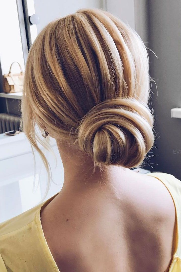 The Most Beautiful Hairstyles To Inspire Your Big Day 'do | Beauty Inside Sleek And Simple Wedding Hairstyles (View 4 of 25)