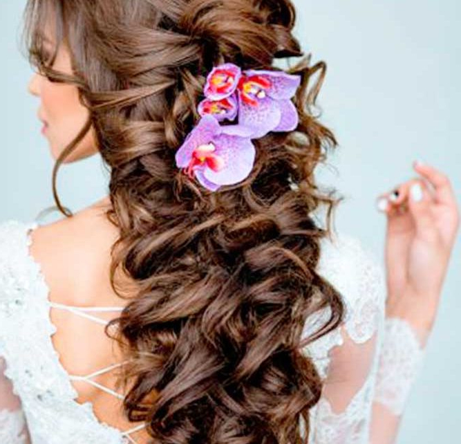 The Most Impressive Wedding Hairstyles For Brides – Fashion Pertaining To Braided Lavender Bridal Hairstyles (View 6 of 25)