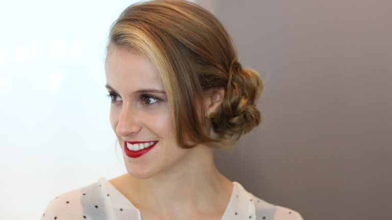 This Beautiful Do It Yourself Bridal Updo Will Simplify Your Big Day Throughout Pinned Back Tousled Waves Bridal Hairstyles (View 23 of 25)