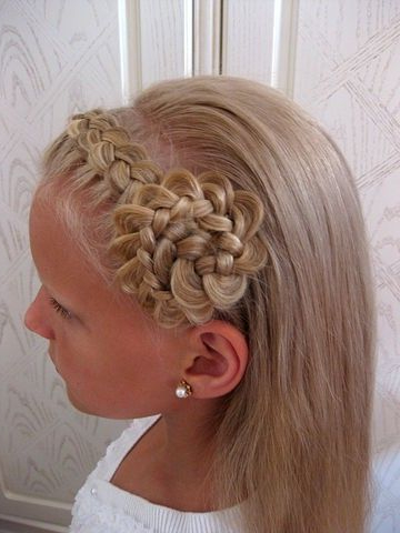 This Is Actually Pretty Easyit's Just A Braid To One Side Then Within Spiraled Wedding Updos (View 7 of 25)