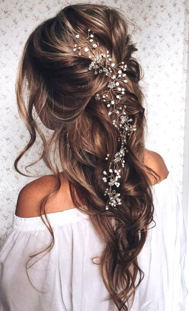 Top 20 Bridal Headpieces For Your Wedding Hairstyles | Wedding Throughout Pulled Back Bridal Hairstyles For Short Hair (View 10 of 25)