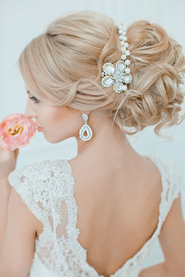 Top 20 Bridal Headpieces For Your Wedding Hairstyles With Pearls Bridal Hairstyles (View 7 of 25)