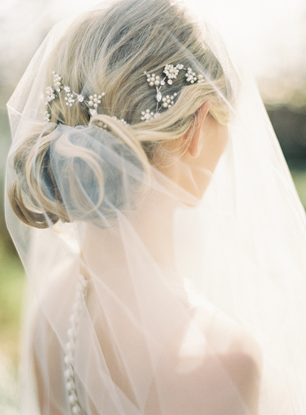 Top 20 Wedding Updos   Wedding Ideas   Oncewed Inside Bridal Chignon Hairstyles With Headband And Veil (View 18 of 25)