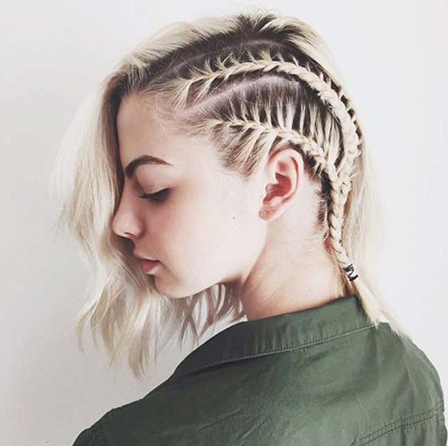 Top 40 Best Sporty Hairstyles For Workout   Fashionisers© Throughout Double Braided Look Wedding Hairstyles For Straightened Hair (View 18 of 25)