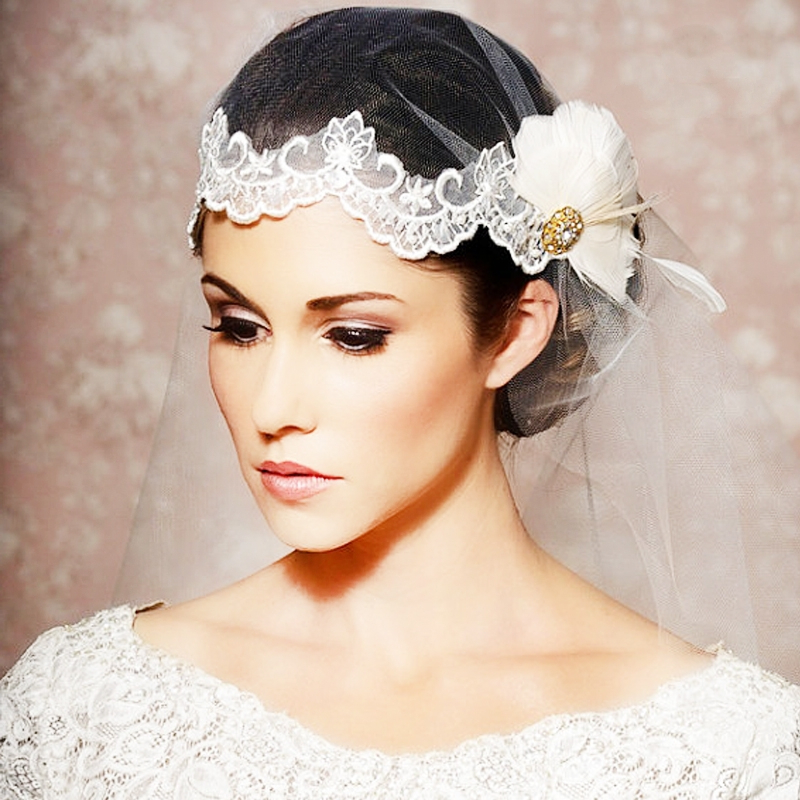Trendy Bridal Hair Accessories Intended For Bedazzled Chic Hairstyles For Wedding (View 21 of 25)